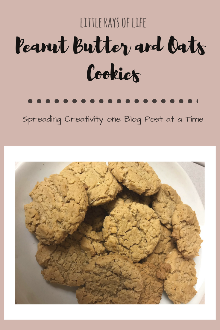 Oatmeal & Peanut Butter Cookies