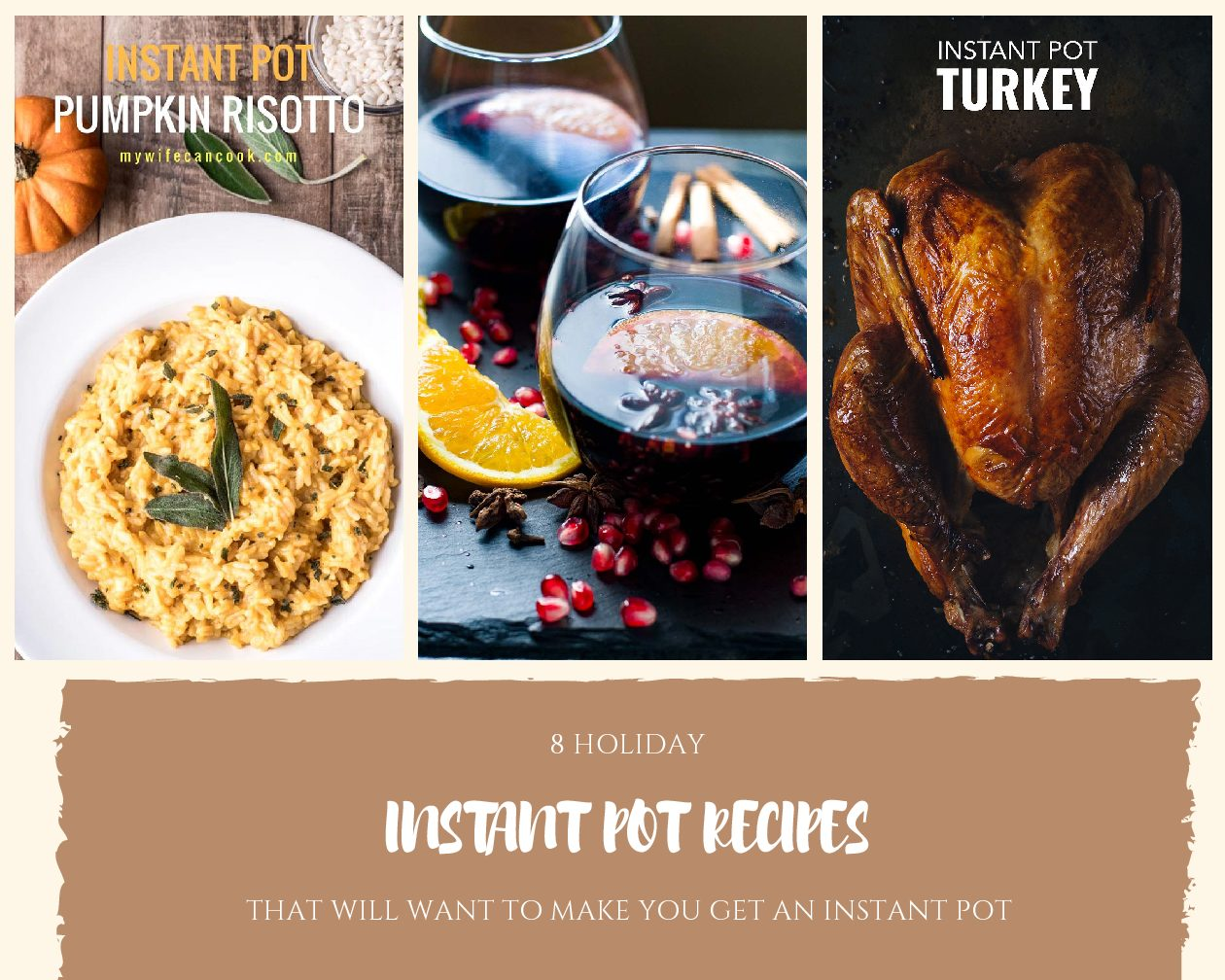 8 Holiday Dishes Done in an Instant Pot